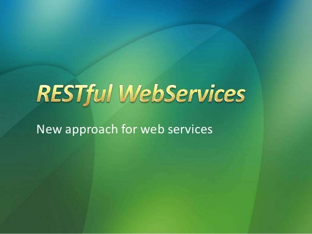 New approach for web services