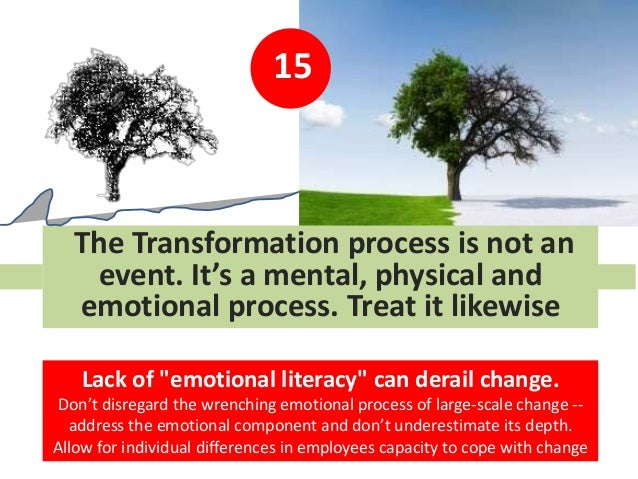 """15 The Transformation process is not an event. It's a mental, physical and emotional process. Treat it likewise Lack of """"e..."""