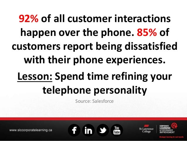 92% of all customer interactions happen over the phone. 85% of customers report being dissatisfied with their phone experi...