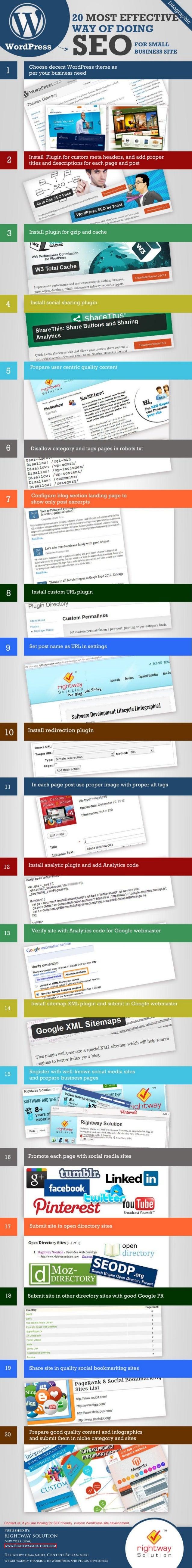 Effective SEO tips for WordPress site