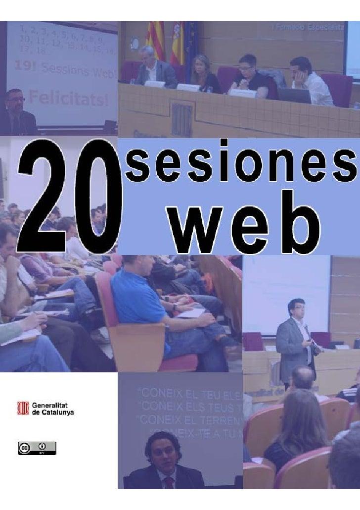 Sesiones web (2005 – 2010)Centro de Estudios Jurídicos y Formación Especializada (Departamento de Justicia) y Dirección Ge...