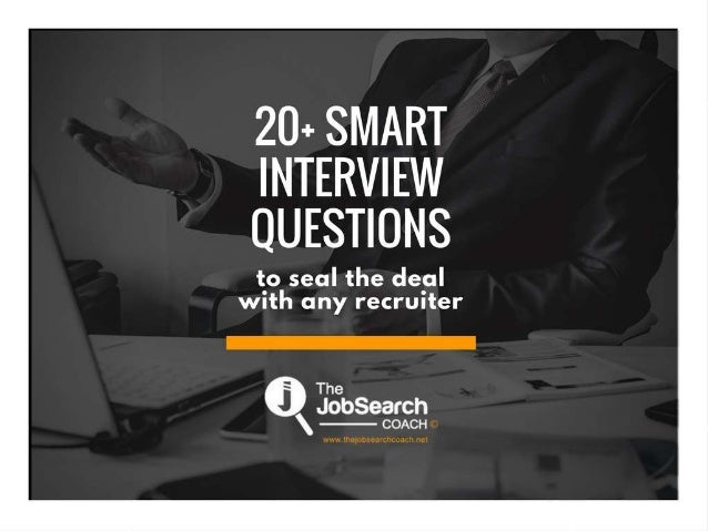 20+smart interview questions