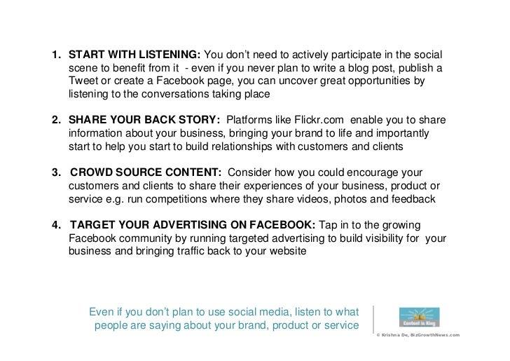 20 Social Media Best Practice Tips Slide 3