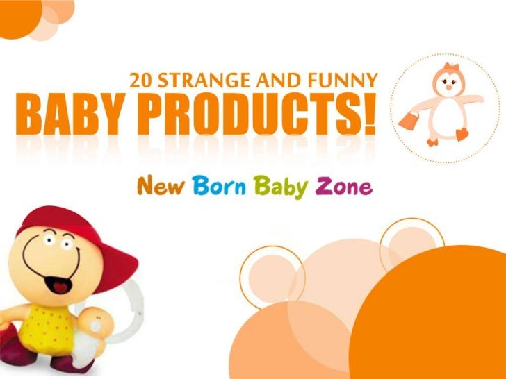 20 Strange and Funny Baby Products!