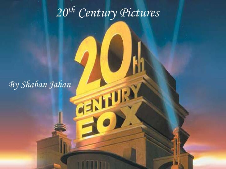 20th Century Pictures<br />By ShabanJahan<br />