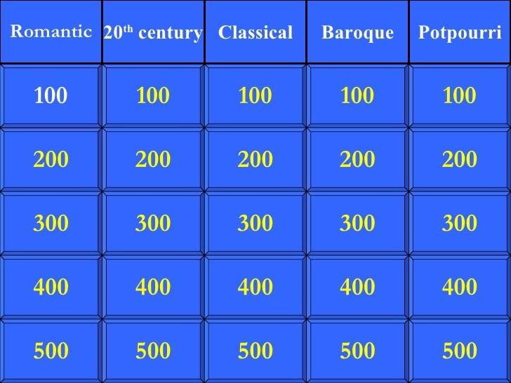 200 300 400 500 100 200 300 400 500 100 200 300 400 500 100 200 300 400 500 100 200 300 400 500 100 Romantic 20 th  centur...