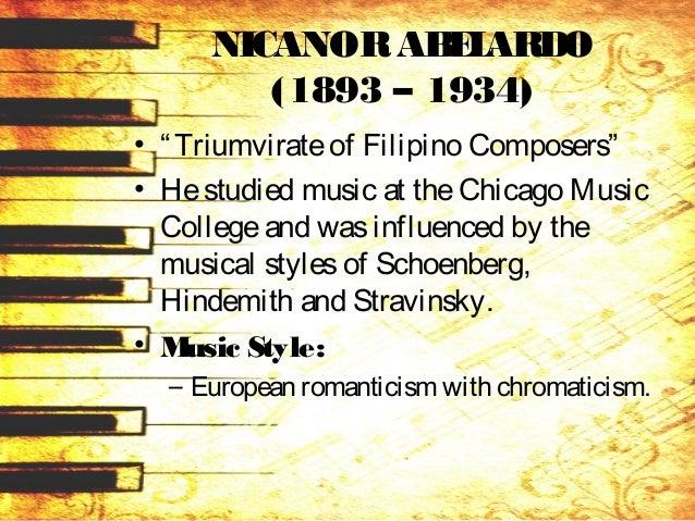• Hiscompositionscontain – hazy tones, dissonanceand unusual chordal combinationsfound in such worksasCinderellaOverture, ...