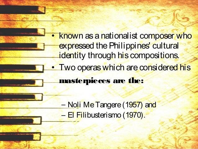 • Healso wroteamarch during the Japaneseregimeentitled – Tindig, – Aking Inang Bayan, – And another march Bagong Lipunan d...