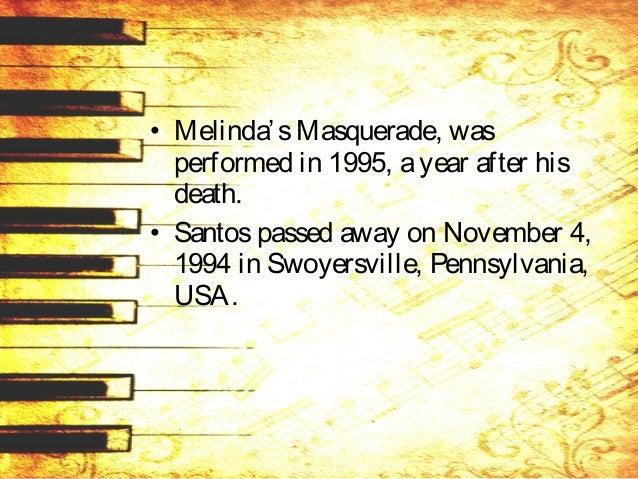 ALFREDO BUENAVENTURA (1929) • October 14, 1929 in Sta. Maria, Bulacan in Sta. Maria, Bulacan. • composer, conductor and te...