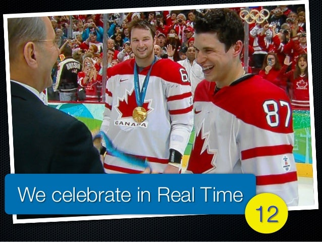 We celebrate in Real Time 12