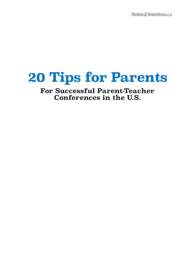 Tips For Successful Parent Teacher >> 20 Tips For Parents For Succesful Parent Teacher Conferences In The