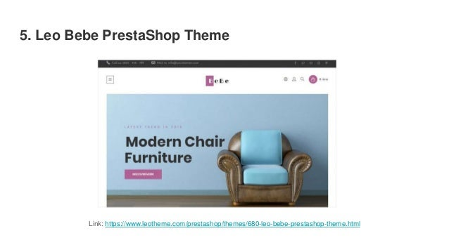 20 Top Best Furniture Prestashop Themes 2019 For Home Decor Interio
