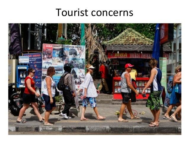 Tourist concerns