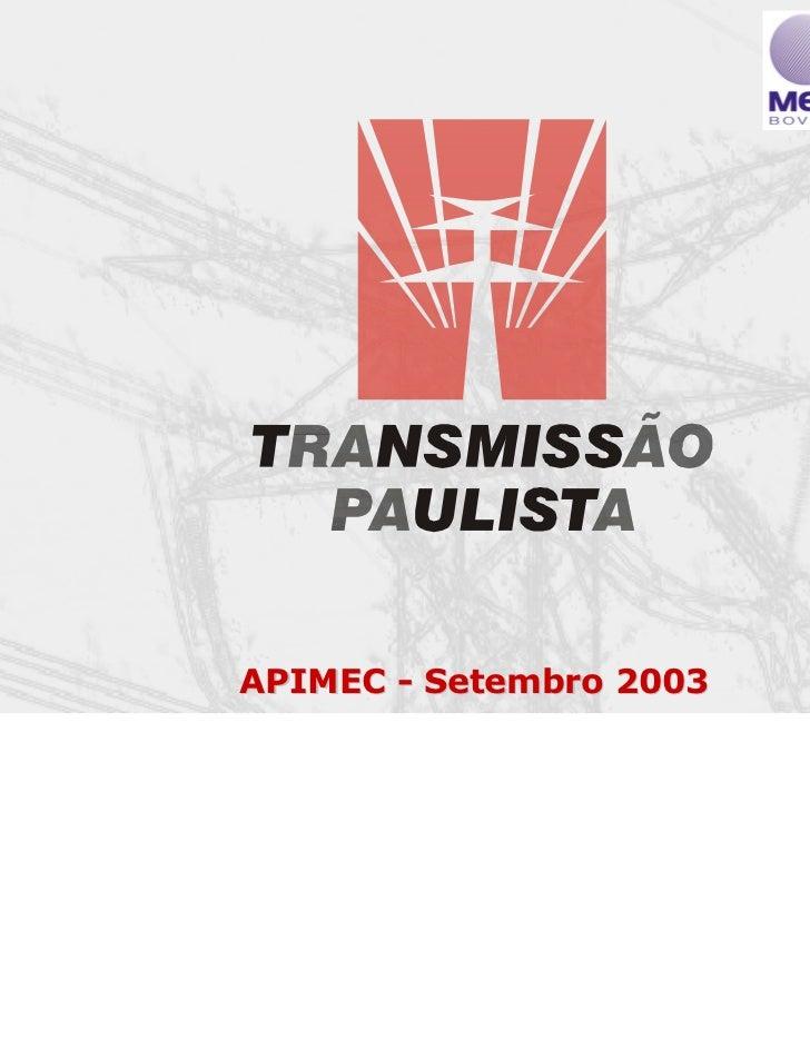 APIMEC - Setembro 2003