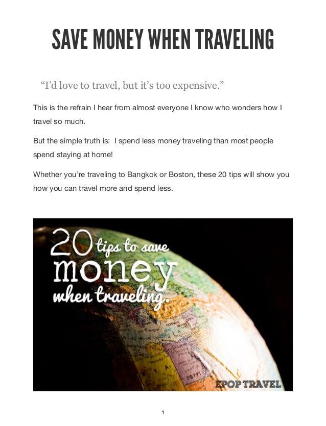 20 travel hacks Slide 2