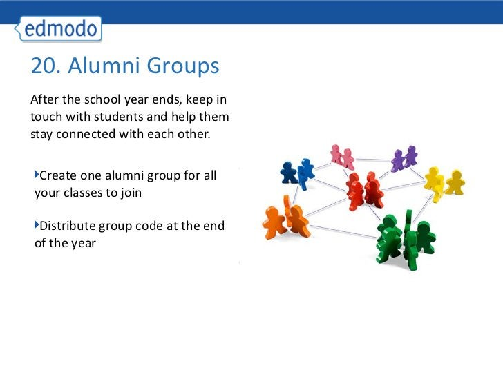 <ul><li>After the school year ends, keep in touch with students and help them stay connected with each other.  </li></ul>2...