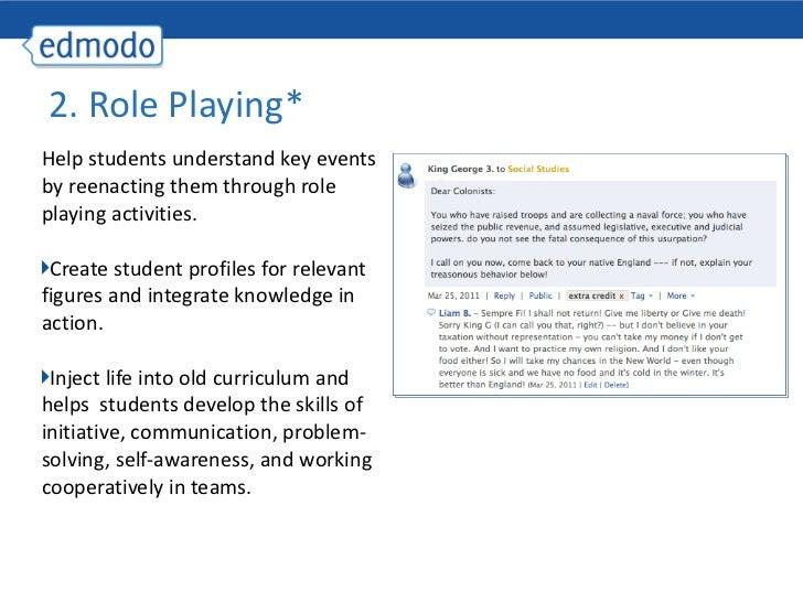 20 Ways to Use Edmodo Slide 3