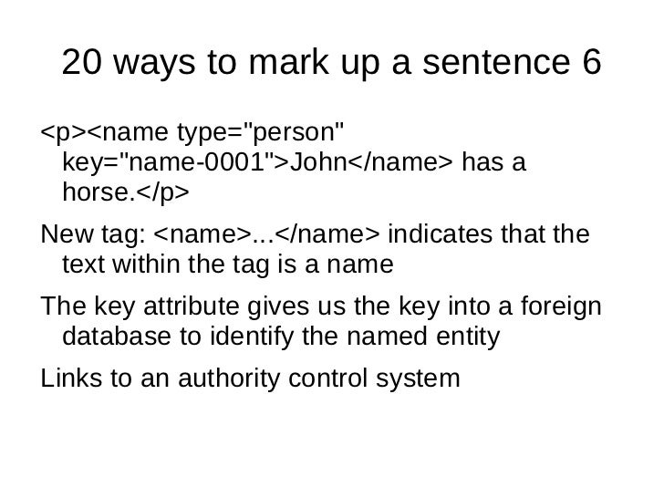 20 Ways To Mark Up A Sentence