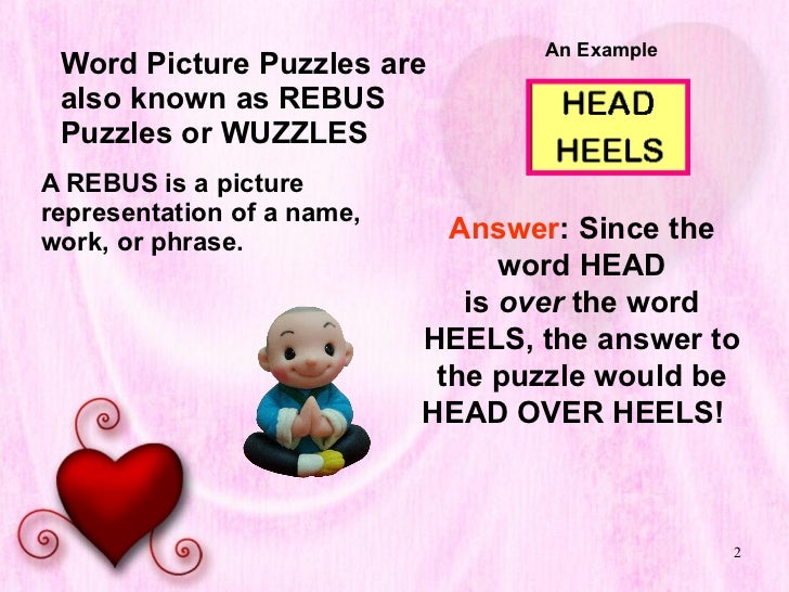 20 Word Picture Puzzles Slide 3