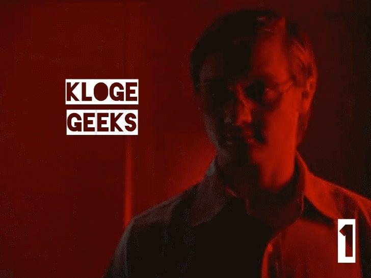 kloge geeks            1