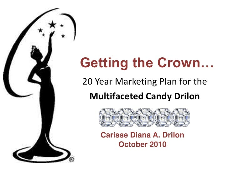 Getting the Crown…<br />20 Year Marketing Plan for the<br />Multifaceted Candy Drilon<br />Carisse Diana A. Drilon<br />Oc...