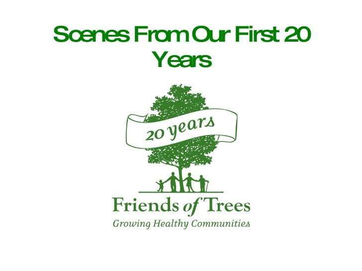 Scenes From Our First 20 Years