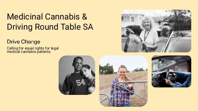 Medicinal Cannabis & Driving Round Table SA Calling for equal rights for legal medical cannabis patients.