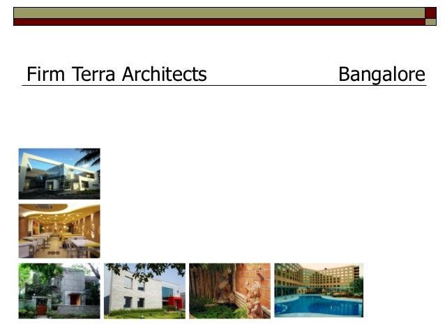 Firm Terra Architects Bangalore