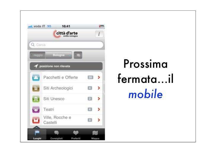 Prossimafermata…il  mobile