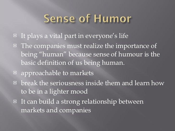 Sense of humor essay