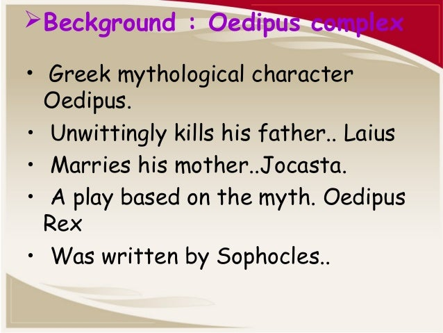 an analysis of the psychological elements in sophocles oedipus trilogy oedipus rex oedipus at colonu Start studying chapter 8-theater learn vocabulary, terms, and more greek tragedy writer who wrote the trilogy of agamemnon, the libation bearers, and the eumenides sophocles greek tragedy writer who wrote oedipus rex, antigone, and oedipus at colonus euripides greek tragedy writer who.