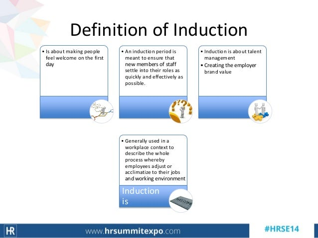 good induction programme
