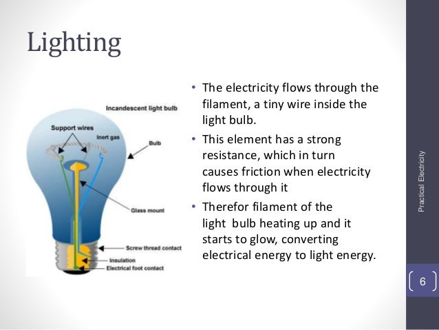 Report electricity move better through thick wires and thin wire ...