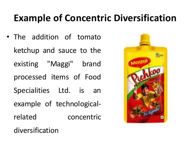 Concentric diversification strategy definition