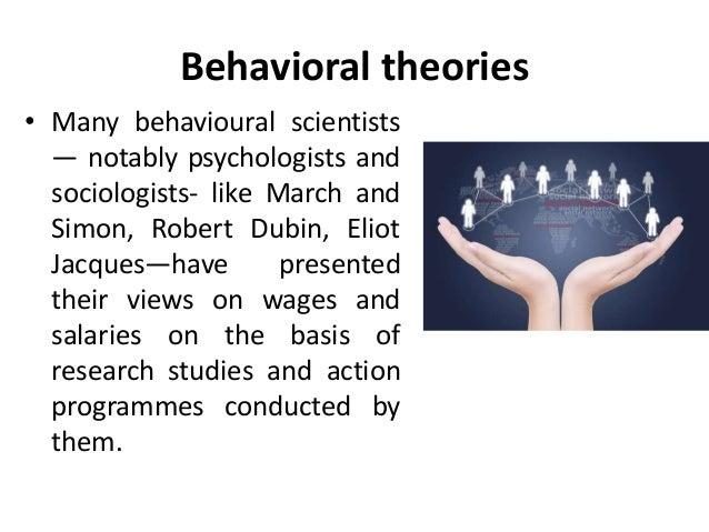 behavioural theories of compensation