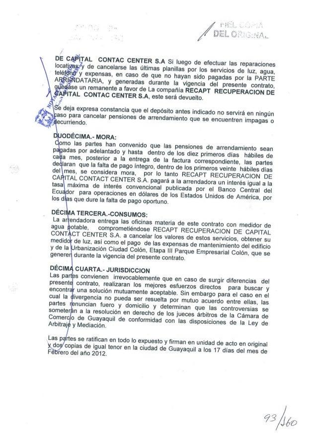 21 contrato arrendamiento - Contrato de arrendamiento de oficina ...