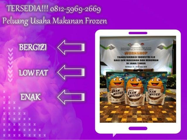 Tersedia 0812 5969 2669 Peluang Usaha Makanan Dan Minuman Unik