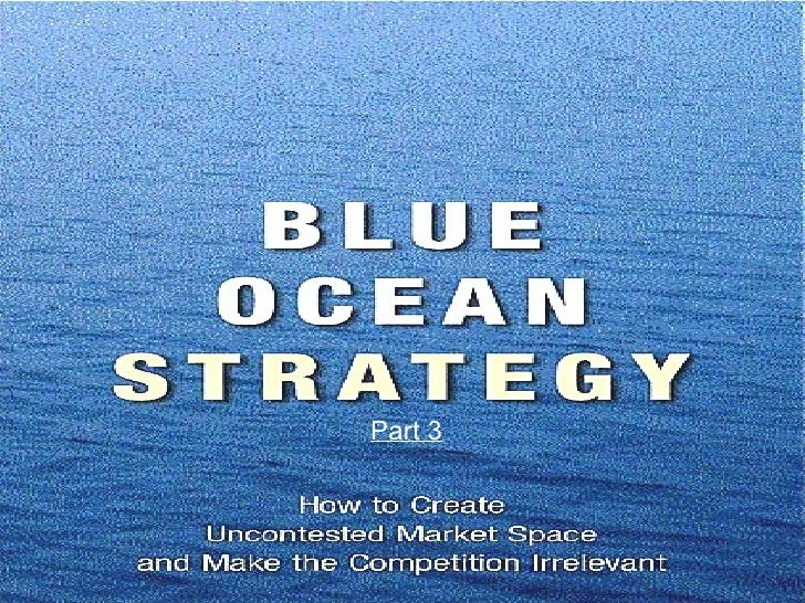 Blue ocean strategy air asia