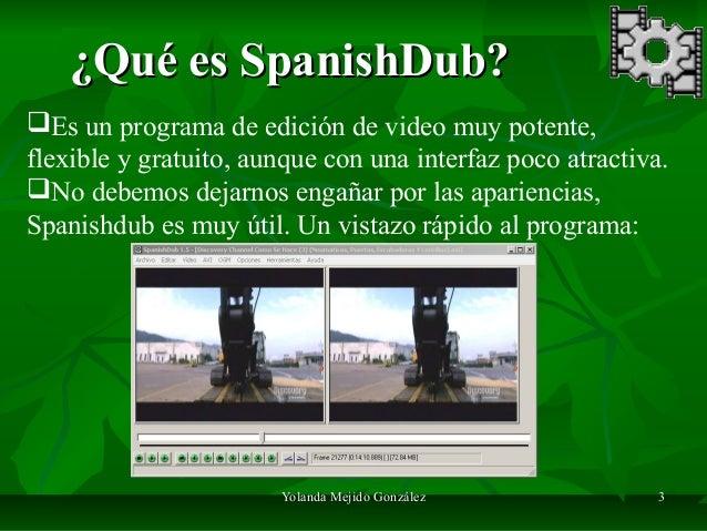 programa spanishdub