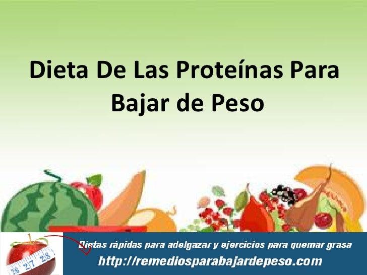 dieta proteica para bajar de peso y aumentar masa muscular