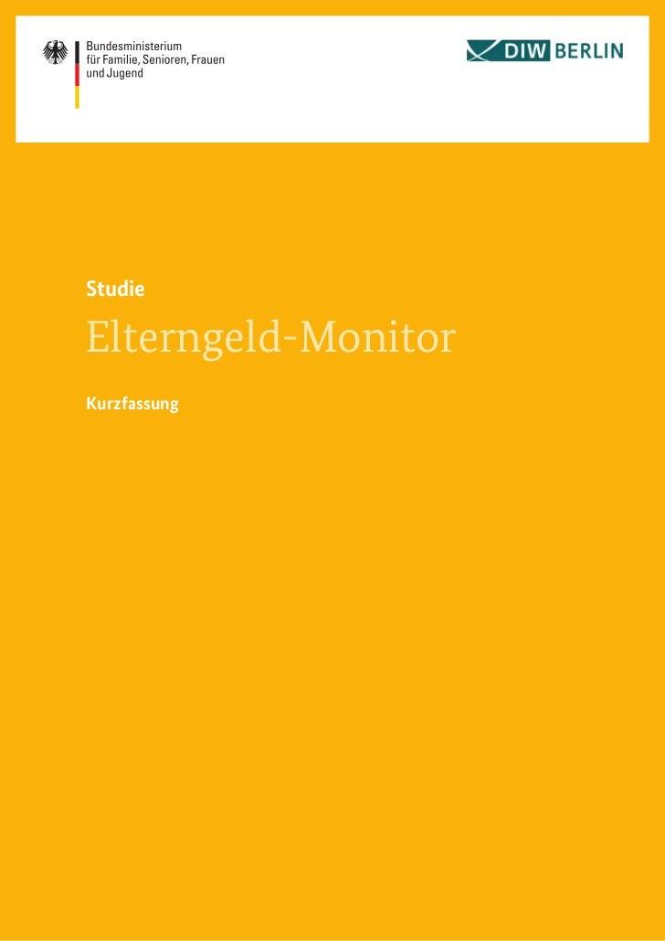 StudieElterngeld-MonitorKurzfassung