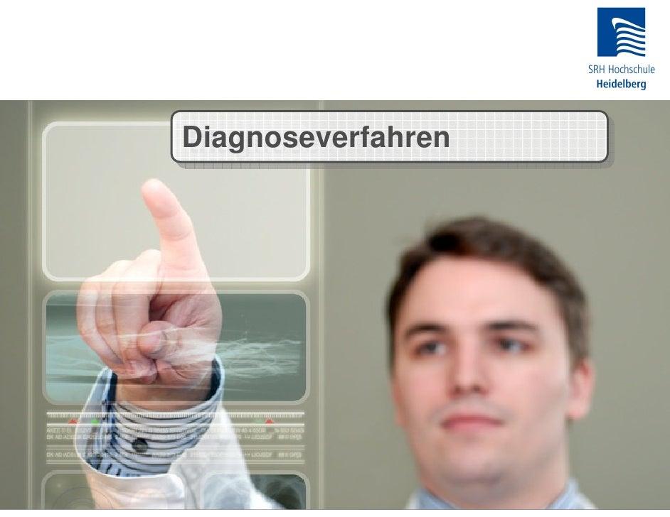 Diagnoseverfahren Diagnoseverfahren