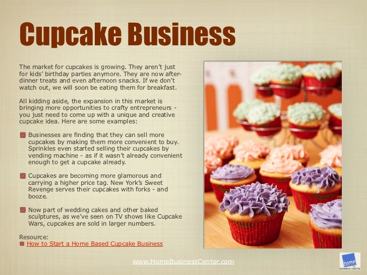 Cake decorating home business