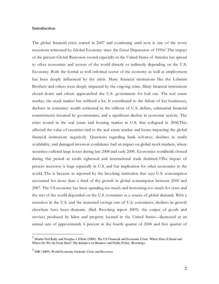 impact of global economic downturn in nepal Impact of the global financial and economic situation on  and economic downturn on poverty  on economic structure, integration into global financial markets .