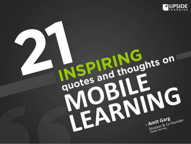 In the Mobile Learning Handbook