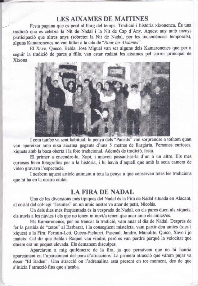 21. kam  núm. 21. gener 1998 Slide 2