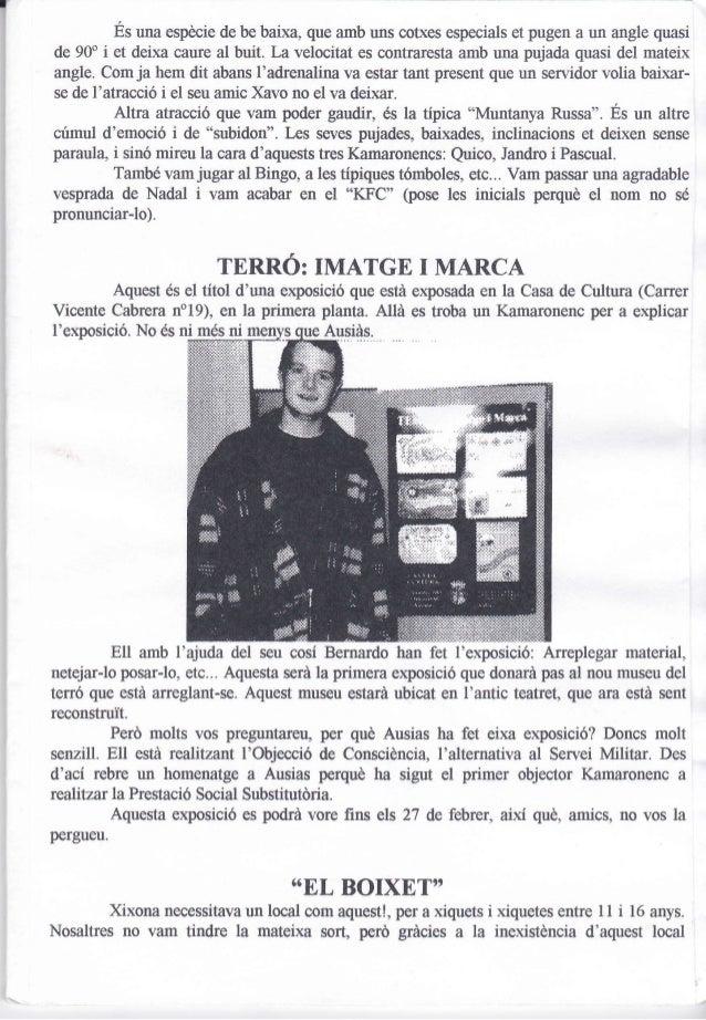 21. kam  núm. 21. gener 1998 Slide 3