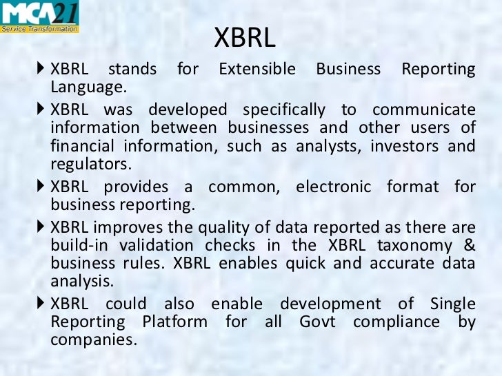 extensible business reporting language definition psychology