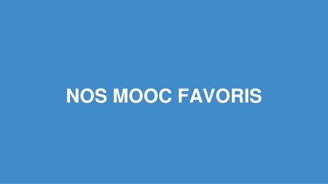 NOS MOOC FAVORIS