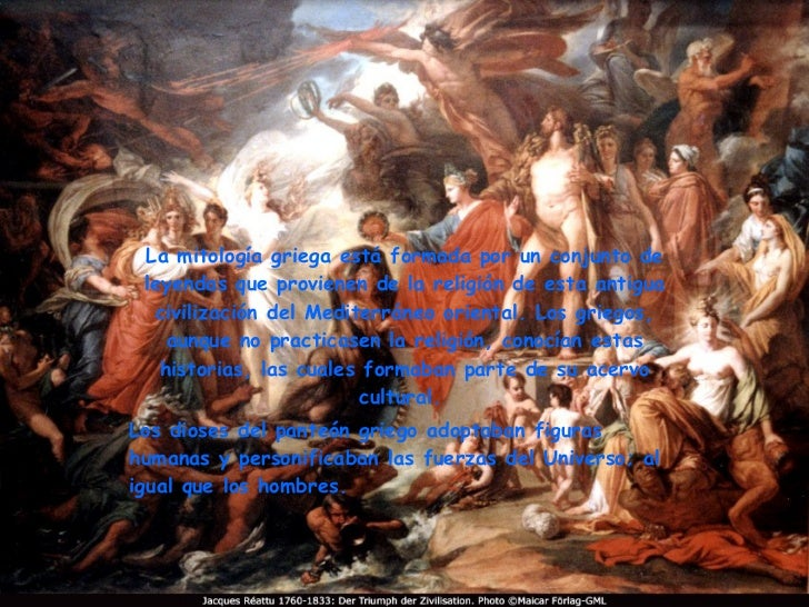 La mitología griega está formada por un conjunto de leyendas que provienen de la religión de esta antigua civilización del...